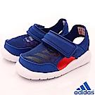 adidas童鞋 透氣護趾涼鞋 CEI148藍(小童段)
