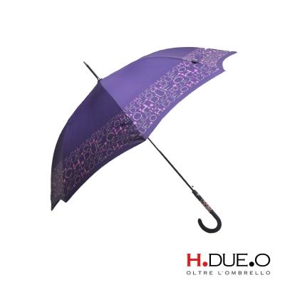 義大利 H.DUE.O 馬賽克抗UV直骨傘 3色可選