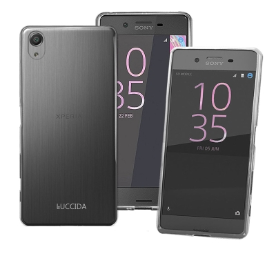 LUCCIDA SONY Xperia X Performance 超薄透明軟式...