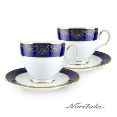Noritake 藍色樂章咖啡對杯