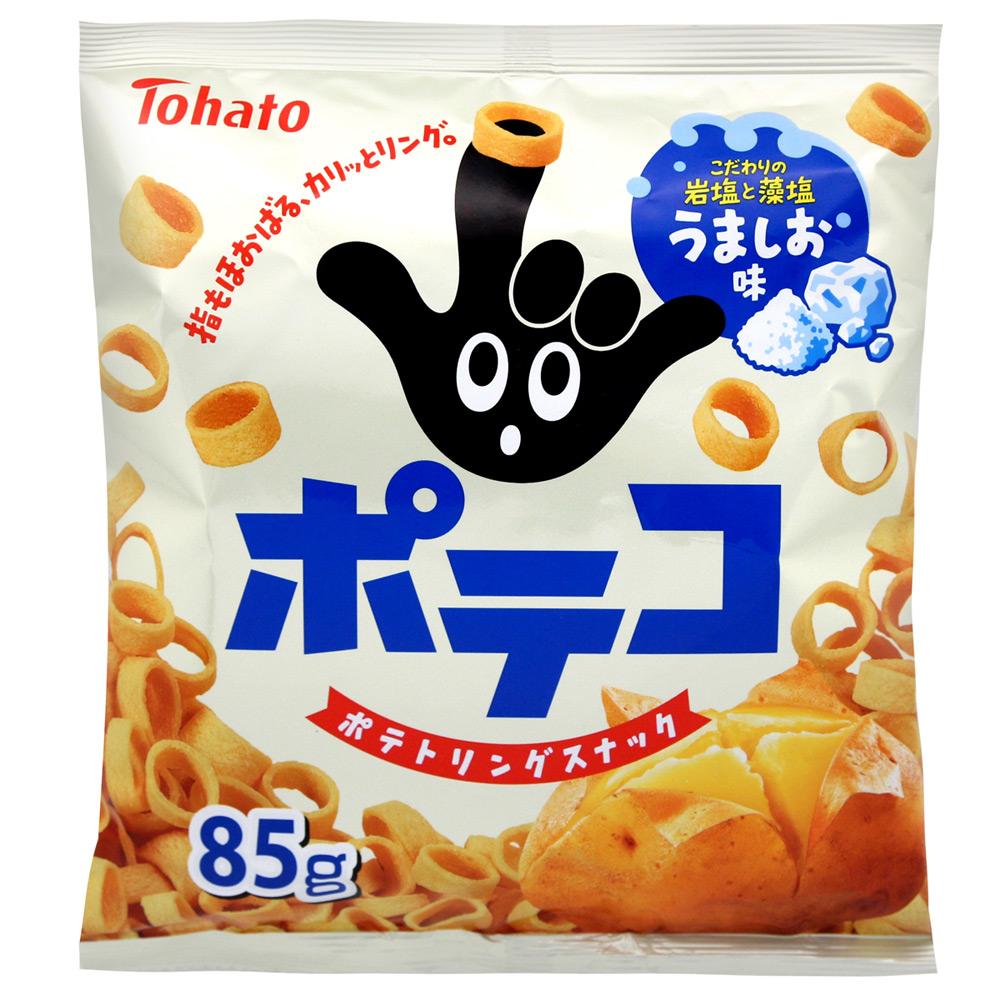 東鳩 手指圈圈餅-鹽味(85g)