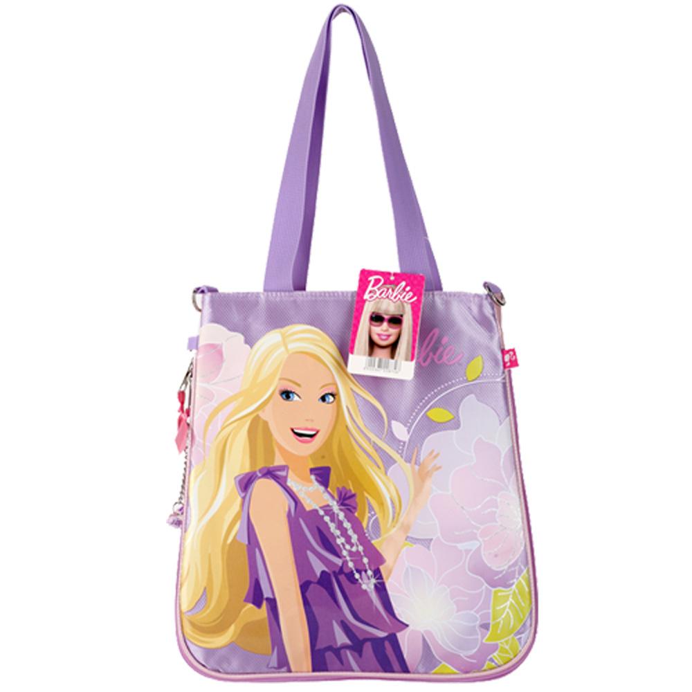 【芭比Barbie】芭比花開富貴手提包B