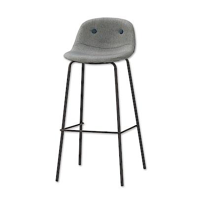 Bernice-希伯來時尚吧台椅/高腳椅/單椅(兩色可選)-43x44x94cm