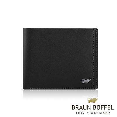 BRAUN BUFFEL -ANDRO 安卓系列8卡皮夾 - 太空黑