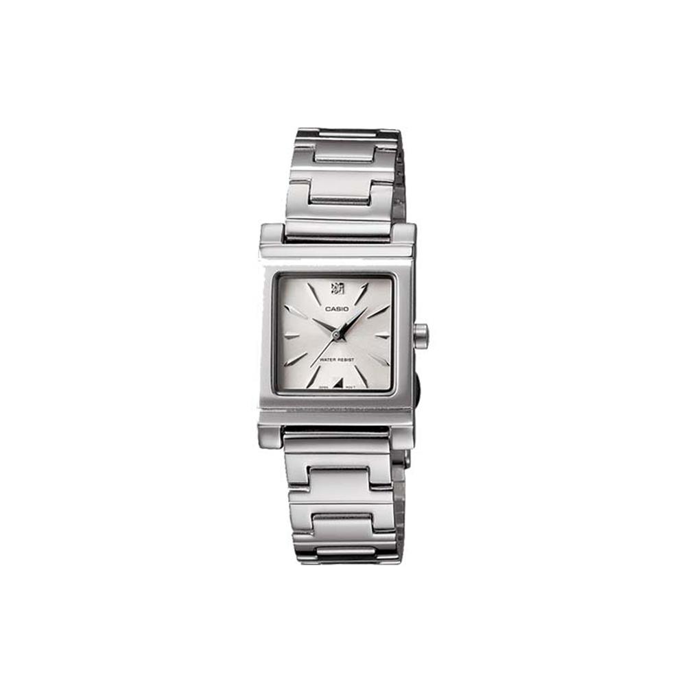 CASIO 知性神采氣質型女錶腕(LTP-1237D-7A2)-白面