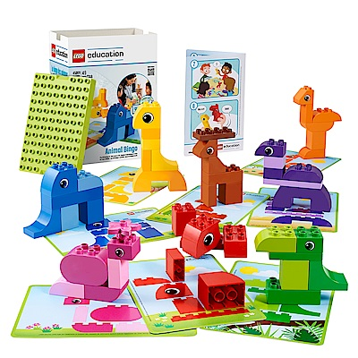 LEGO 樂高 得寶幼兒 Education 動物賓果遊戲 45009