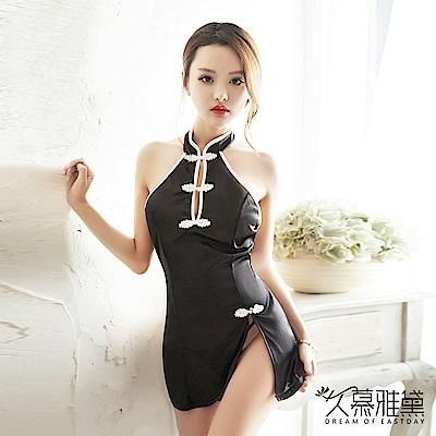 性感睡衣 中國魅惑性感旗袍 久慕雅黛