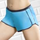 推EASY SHOP-沁涼運動 運動型短褲(冰晶藍)