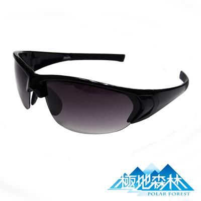 極地森林-TR 90 漸層灰偏光鏡片運動太陽眼鏡 7706
