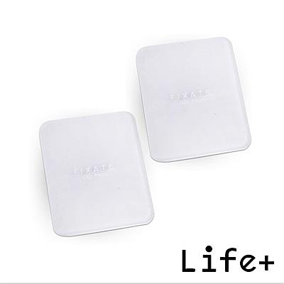 Life Plus 無痕隨行矽膠貼墊/萬用貼/隨手貼 (透明-方形*2)