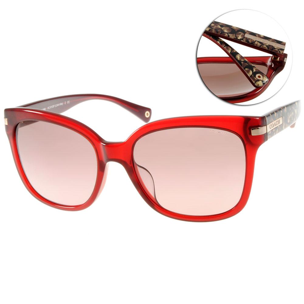 COACH太陽眼鏡 美式貓眼/紅#COS8103F 523614 @ Y!購物