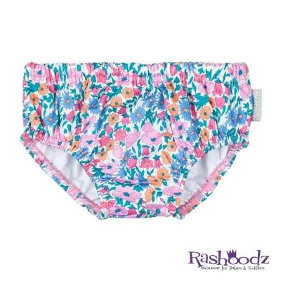 澳洲 RASHOODZ 兒童抗UV防曬游泳尿布褲 (甜心花園)