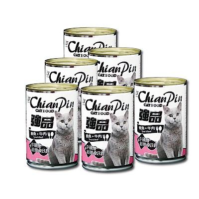 寵物物語-強品貓罐-鮪魚+牛肉400G-24罐
