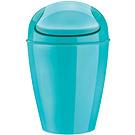 KOZIOL 搖擺蓋垃圾桶(湖綠S)