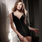 LADY 纖體塑身系 重機能美型束裙(黑色)