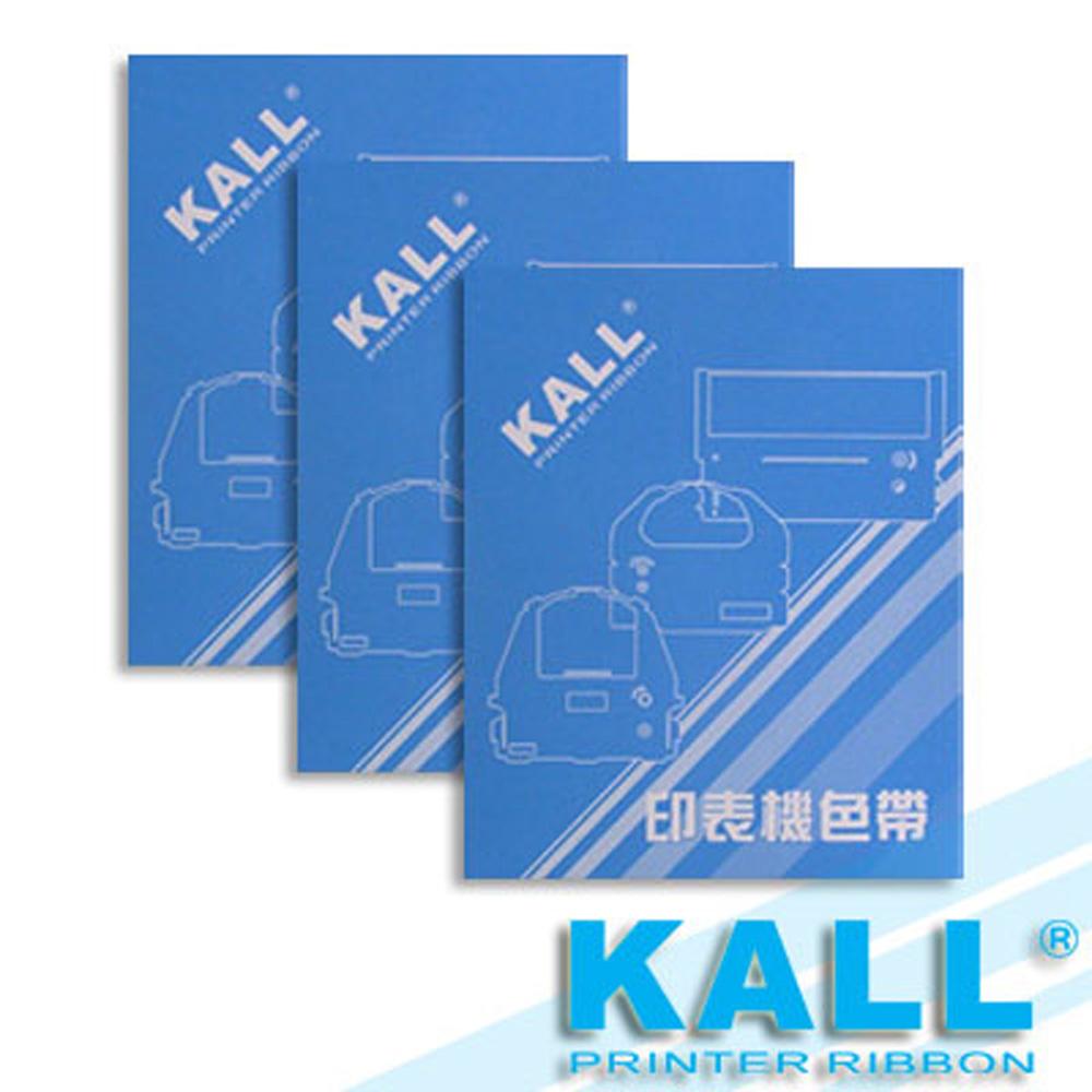KALL『 FUJITSU DL3400 』色帶 (黑色/1組3入)