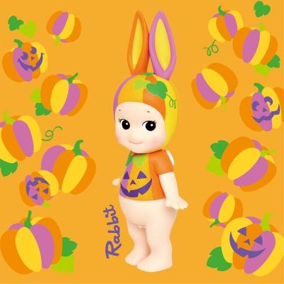 Sonny Angel 藝術家系列2017萬聖節限量版大型公仔-奸笑南瓜兔