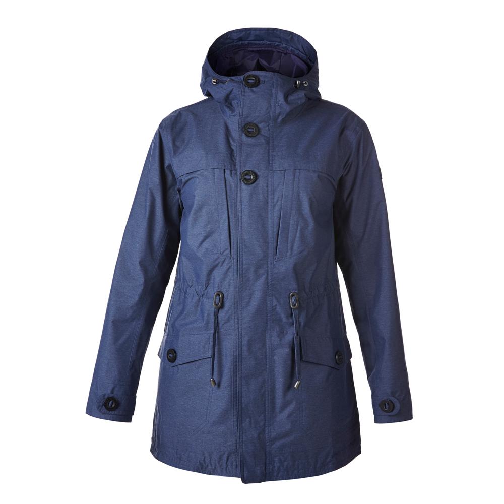 【Berghaus 貝豪斯】女款AQ2防水透氣外套H22F18-藍