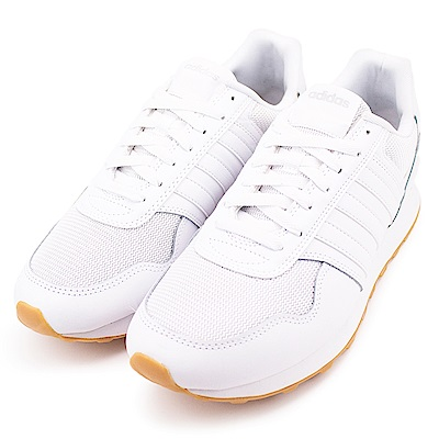 ADIDAS 10K 男女休閒慢跑鞋 CG5923 白