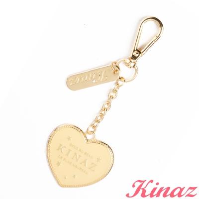 KINAZ-Joyful-collector小巴黎書系列-心的節奏鑰匙圈