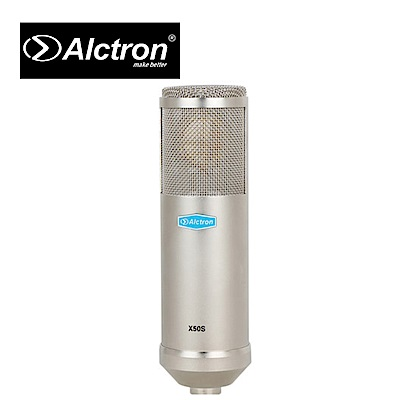 ALCTRON X50S 晶體電容麥克風 銀色款