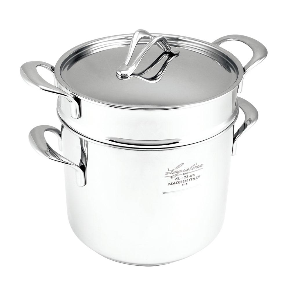 Lagostina樂鍋史蒂娜 La pasta 多功能義大利麵煮麵鍋