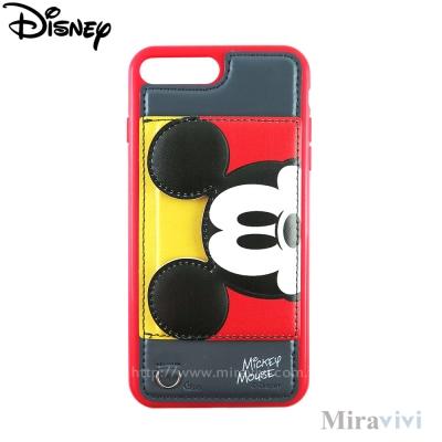 Disney迪士尼iPhone 8/7 Plus(5.5吋)可立式經典大頭皮革保...
