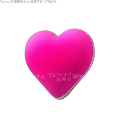 H8ZE 可愛小心肝 愛心造型 10段變頻 無線跳蛋 桃