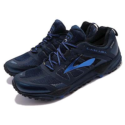 BROOKS 越野慢跑鞋 Cascadia 11 GTX 男鞋