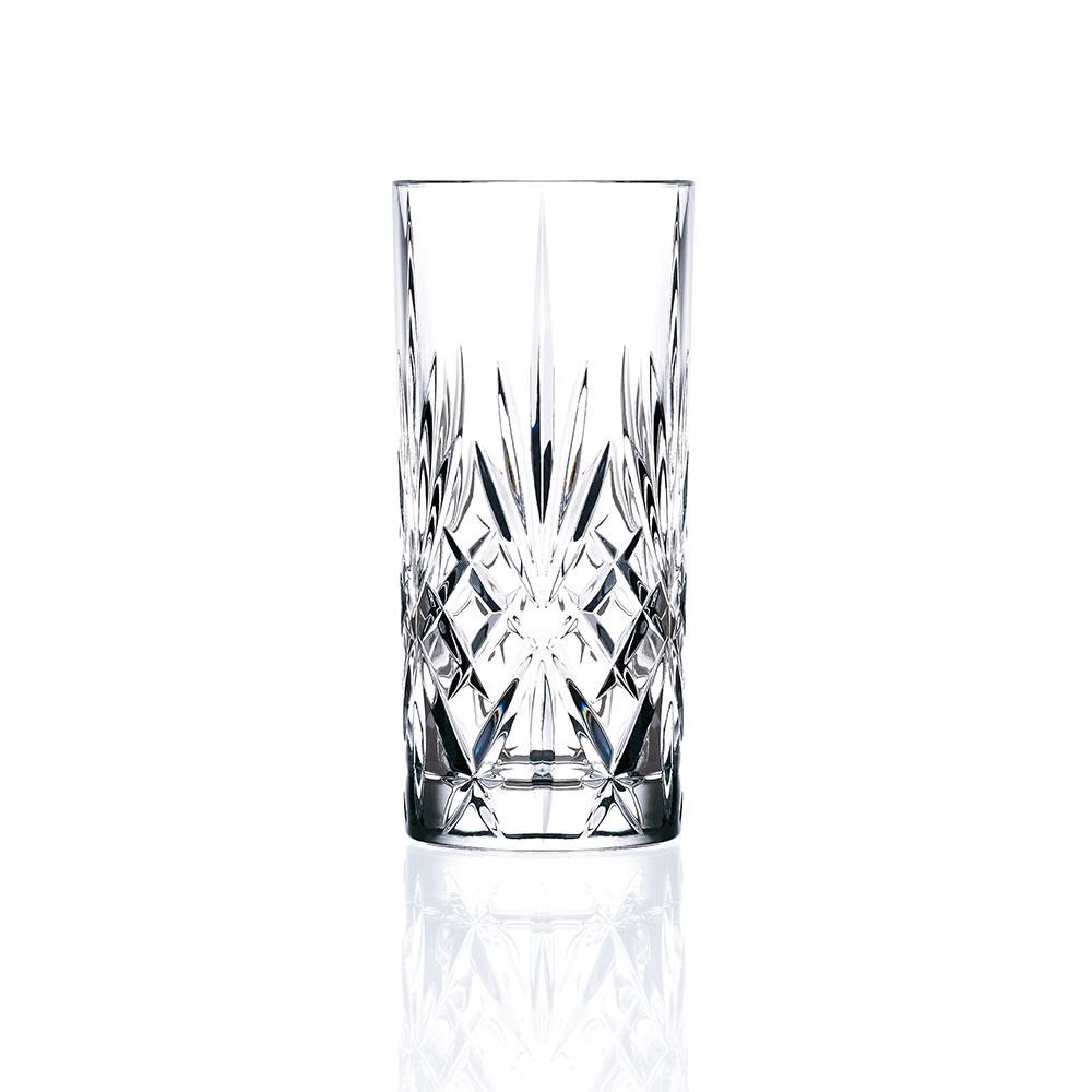 義大利RCR梅洛迪無鉛水晶果汁杯(6入)360cc