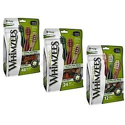 Whimzees唯潔 牙刷型潔牙骨超值包12.7oz 兩包組