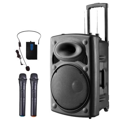 大聲公旗典型12吋無線式多功能行動音箱/喇叭