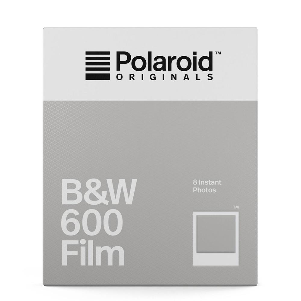 Polaroid B&W Film for 600 黑白底片(白框)/2盒