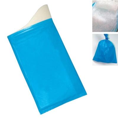 PUSH! 戶外休閒用品方便攜帶型尿袋集尿袋移動廁所 8入1組 J22