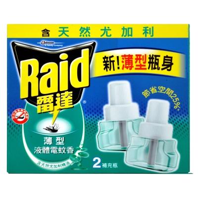 雷達薄型液電補充尤加利 41 ml* 2 入(新)