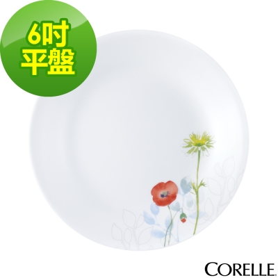 【CORELLE 康寧】花漾彩繪6吋平盤