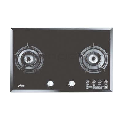 豪山牌 SB-2109 檯面式面板加大強化玻璃二口瓦斯爐