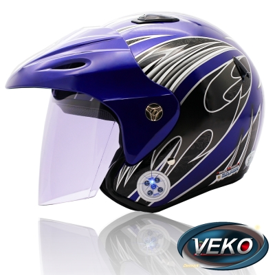 VEKO藍芽4-0立體聲專利安全帽-BTS-M3藍