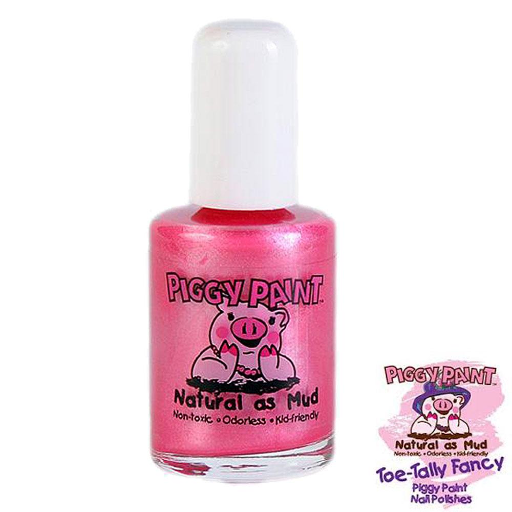 Piggy Paint 天然無毒兒童專用指甲油-夢幻粉紅