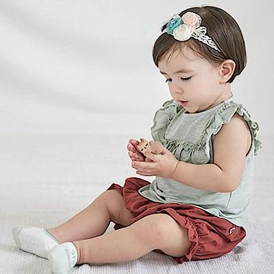韓國 Happy Prince 水鑽三色蕾絲玫瑰髮帶