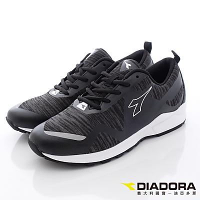 DIADORA-記憶潮流運動款-MCTH780黑(男段)