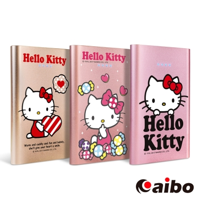 Hello Kitty 歡樂氛圍 12000 Plus 超薄時尚行動電源
