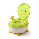 babyhood 企鵝恆溫軟墊座便器-綠色