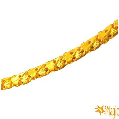 Magic魔法金-真情擁有黃金項鍊(約3.95錢)