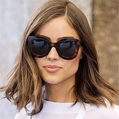 CELINE 大方框 太陽眼鏡(琥珀色)