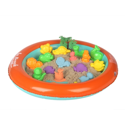圓形充氣沙盤  TUMBLING SAND 翻滾動力沙玩沙模具