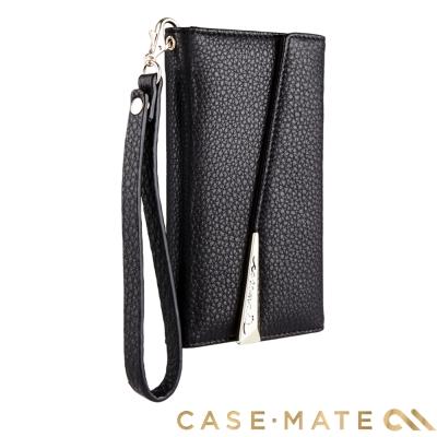 美國 Case-Mate iPhone X 真皮質感手拿包風格手機殼 - 黑
