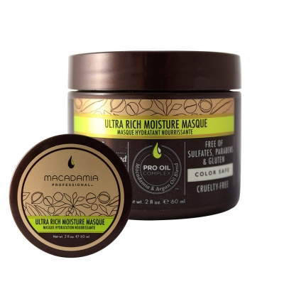 Macadamia Professional 瑪卡奇蹟油 超潤澤髮膜60ml