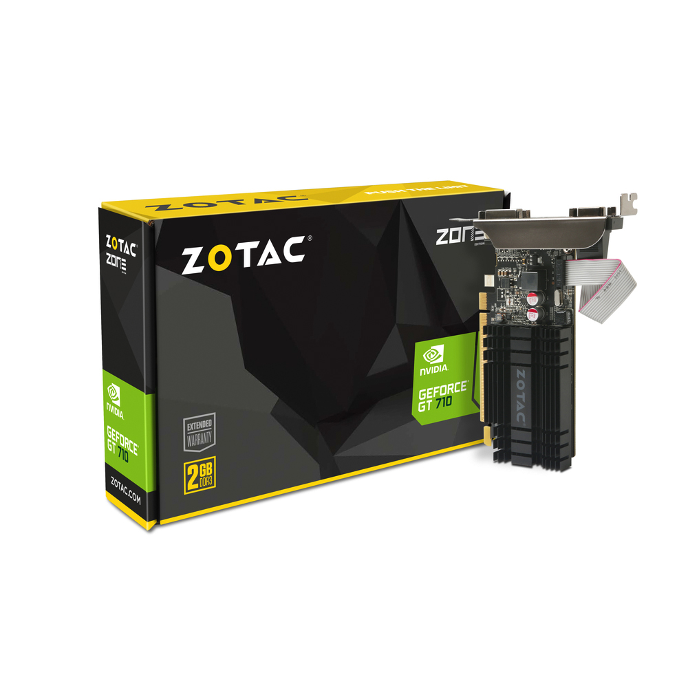 ZOTAC 索泰 GeForce® GT 710 2GB 顯示卡