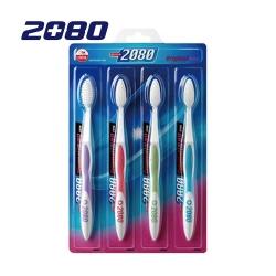 韓國2080 雙重細毛牙刷(4入)